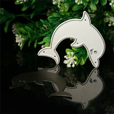 Dolphin Metal Cutting Dies Stencil For DIY Scrapbooking Embossing Paper Cards