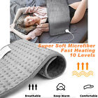 Portable Electric Heating Pad For Shoulder Back Spine Leg Pain Relief Keep Warm