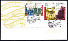 Australia 2000 Towards Federation - Two Pairs Fdc - Unaddressed - Mint