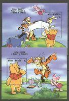 Walt Disney, Winnie the Pooh - Antigua u.Barbuda - 2 Bl. ** MNH 1998
