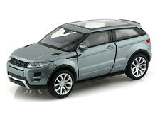Welly 1:32 Display Land Rover Range Rover Evoque Diecast Car Grey