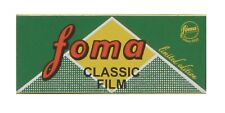 Fomapan 100ASA 120mm Roll Film