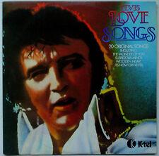 ELVIS PRESLEY Elvis Love  Songs 1979 OZ K-Tel VG++/VG+