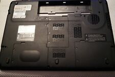 """BOTTOM BASE WITH COVERS AND SPEAKERS FOR 17"""" TOSHIBA P300-1CV LAPTOP"""