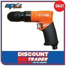 "SP Tools Air Pneumatic Drill Pistol 2000rpm 3/8"" Drive Keyless Chuck SP-2526KL"