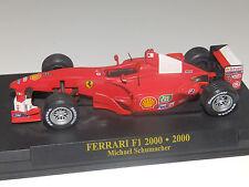 IXO FERRARI F2000 Mickael SCHUMACHER F1 FORMULE 1 N°3 rouge au 1/43
