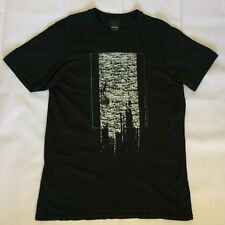Billabong Garage Collection Tailored Fit Mens Size XL Static T Shirt BLACK