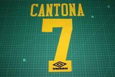Manchester United 94/95 #7 CANTONA AwayKit Nameset Printing