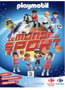 Cartes Playmobil choix ou en lot : PlayMobil - Le Monde Du Sport Carrefour 2021