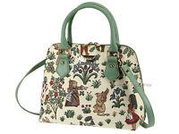 Signare Ladies Woven Tapestry Fashion Handbag Shoulder Bag In Alice Design