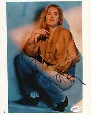 SHARON STONE Signed Photo 8x10.  JSA#: E74036