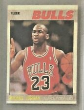 1987 Michael Jordan Fleer #59 - Chicago Bulls