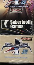 UFS CCG Soul Calibur III Blades of Fury Booste Pack Display MINT