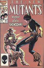 Marvel The New Mutants 41 July 1986 Mirage vs Death Claremont