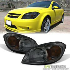 Smoked  Headlamps Replacement 2005-2010 Chevy Cobalt 07-10 Pontiac G5 Headlights