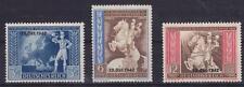 DR Mi Nr. 823 - 825 **, Postkongreß Deutsches Reich 1942, postfrisch, MNH