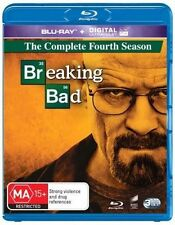 Breaking Bad : Season 4 (Blu-ray, 2014, 3-Disc Set)