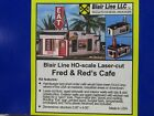BLAIR LINE~ #190-FRED AND REDS CAFE-BUILDING KIT~ HO SCALE