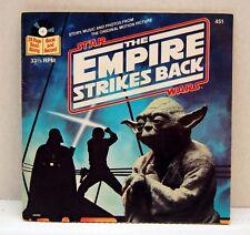 Star Wars Empire Strikes Back Book & Record 1980 Darth Vader Disney