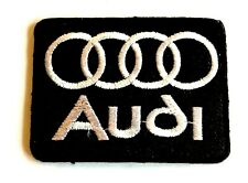 Audi Motor Sports Racing Logo Embroidered Patch Iron on sew Automobile Badge
