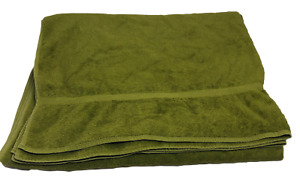 "Towel Extra Large Bath Oversized Bath Sheet Dark Green 36"" x 66"""