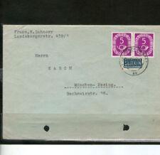 Gestempelte Briefmarken aus der BRD (ab 1948) mit Post-, Kommunikations-Sammlungen