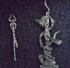 2007 Dark Elf Supreme Sorceress Citadel Lords & Heroes Army Drow Witch Priestess