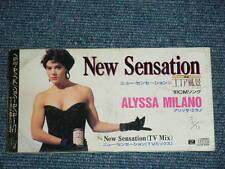 """ALYSSA MILANO  Japan 1991 Tall 3"""" inch CD Single NEW SENSATION"""
