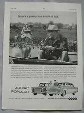 1960 Ford Zodiac Original advert