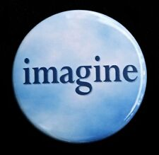 "IMAGINE - Novelty Button Pinback Badge 1.5"""