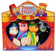 Childrens Puppet Theatre ~ Three Little Pigs Puppets