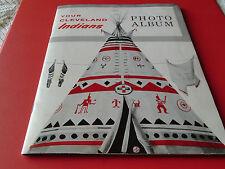 1957 MARIS / COLAVITO  ROOKIES  SOHIO CLEVELAND INDIANS COMPLETE 18  PHOTO ALBUM