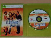 Lips Xbox 360 UK PAL (No Cover) **FREE UK POSTAGE**