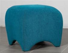 Ottoman Bench Fire & Dirt Resistant Seat Scandinavian Modern Footrest Seat Pouf