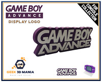 GAME BOY ADVANCE Display Logo pour Collection de Jeu Vidéo Rétro Geek Gaming