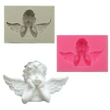 3D Fondant Cake Mold Silicone Mould Angel Baby Baking Decorating Soap Molds