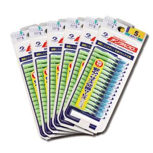 Dentalpro Interdental Brush dental pro Floss Green 15P Size5 6packs