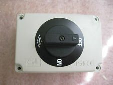 BREMAS CY017991AS38 20 AMP ON-OFF ENCLOSED CAM SWITCH 102169