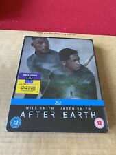 After Earth Ltd Edition Blu Ray Steelbook NEW & SEALED Will Smith Sci-Fi Action