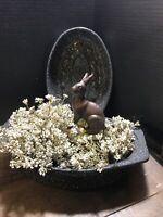 Enamel Black Speckled Enamel Ware Roasting Pan