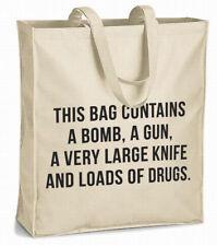 this bag contains... XL canvas shopper