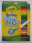 NEW 20 Crayola Super Tips Nontoxic Washable Markers