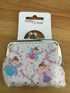 Pretty Pastel Hair Pin Purse with Ballerina Fairy Design