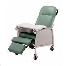 NEW Lumex 574G Three 3 Position Recliner Geri Chair Jade