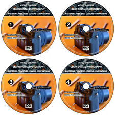 Learn Digital Photography Photo Camera 4 Audio/Video DVD Course Video Guide