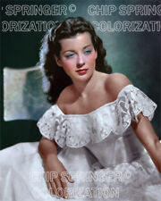 GAIL RUSSELL The Night Has 1000 Eyes #6   Sexy 8x10 COLOR PHOTO BY CHIP SPRINGER
