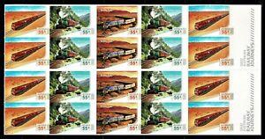 Australia 2010 Railway Journeys Mint Never Folded Booklet of 20