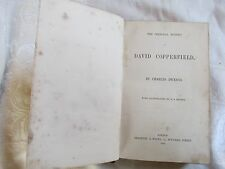 The Personal History of David Copperfield Dickens First Edition ? Bradbury 1856
