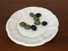 Tiffany & Co. ESTE Trompe-l'oeil Ceramic Plate with Olives