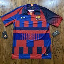 Nike FC Barcelona Home Soccer Jersey, Size Medium NWT $90 943025-456